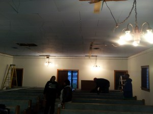 Church Dropped Ceiling in SW Detroit